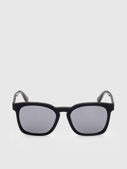 Diesel - DL0342, Black/Grey - Sunglasses - Image 1