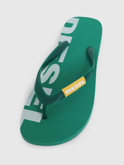 Diesel - SA-BRIIAN, Green - Slippers - Image 5