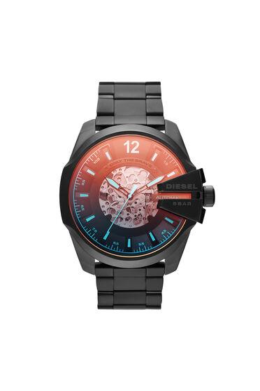 Mega Chief automatic three-hand black-tone watch