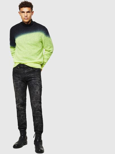 Diesel - K-TREAT, Yellow Fluo - Sweaters - Image 6