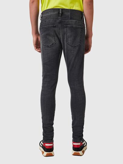 Diesel - D-Istort Skinny Jeans 069YC, Black/Dark grey - Jeans - Image 2