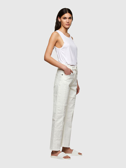 Diesel - D-Reggy Straight Jeans 009UL, White - Jeans - Image 3