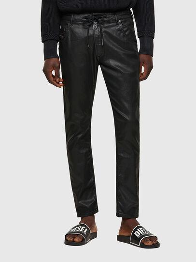 Diesel - Krooley JoggJeans® 0849R, Negro/Gris oscuro - Vaqueros - Image 1