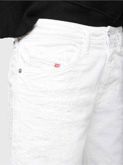 Diesel - THOSHORT, White - Shorts - Image 3