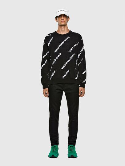 Diesel - K-DAVIS, Black - Sweaters - Image 5