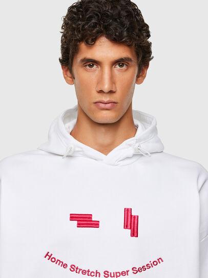 Diesel - S-UMMEREL-N1, White - Sweatshirts - Image 3