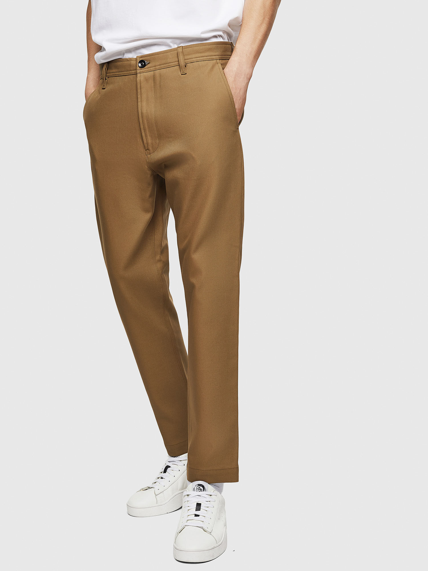 Chino pants in cavalry twill