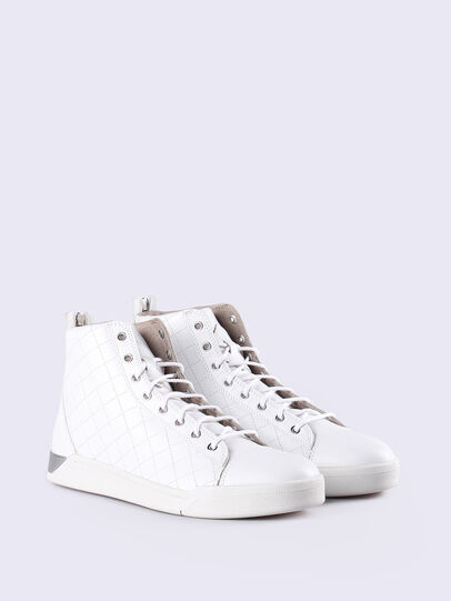 Diesel - DIAMOND, White - Sneakers - Image 3