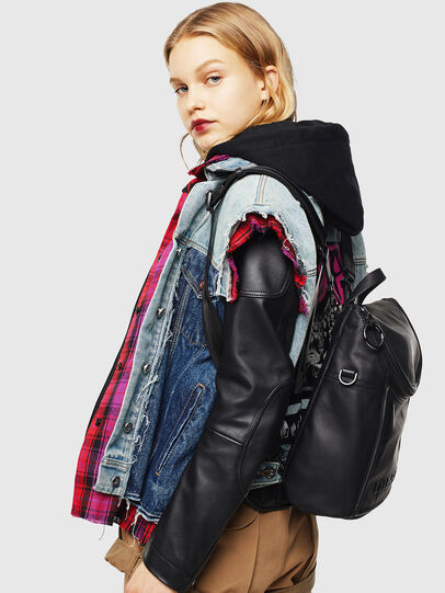 Diesel - SPYNEA, Black - Backpacks - Image 8