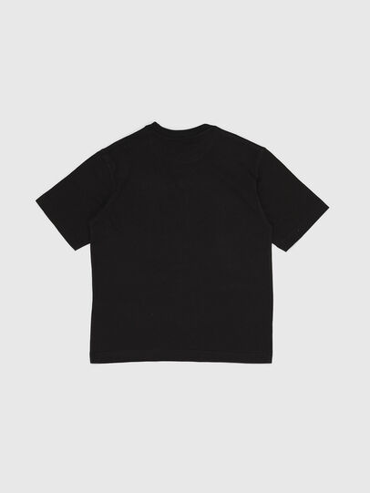 Diesel - TWALLACE OVER, Black - T-shirts and Tops - Image 2