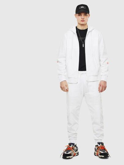 Diesel - S-DIEX, White - Sweatshirts - Image 8