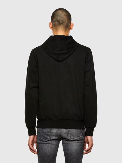 Diesel - S-GIRK-HOOD-K22, Black - Sweatshirts - Image 2