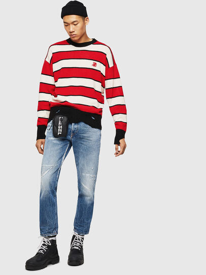 Diesel - K-LOVERY, Red/White - Sweaters - Image 8