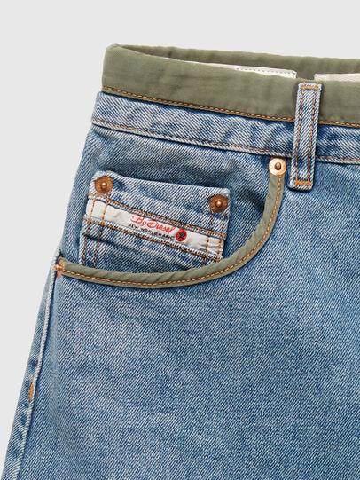 Diesel - DxD-SKIRT, Light Blue - Skirts - Image 3