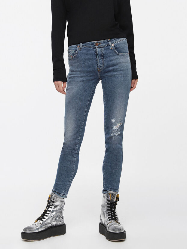 Babhila 085AH, Medium Blue - Jeans