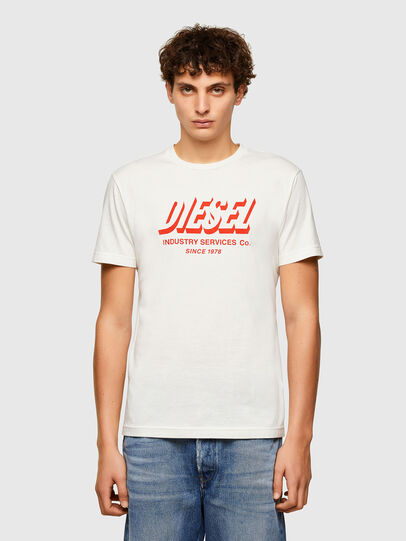 Diesel - T-DIEGOS-A5, White - T-Shirts - Image 1