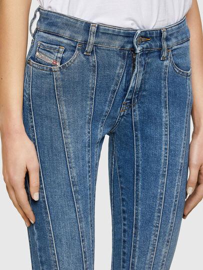 Diesel - Slandy Skinny Jeans 009QS, Light Blue - Jeans - Image 4