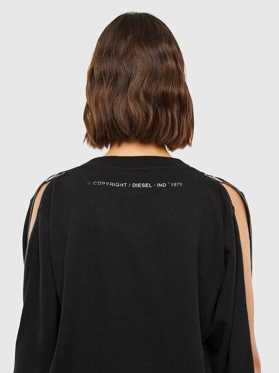 Diesel - F-ROSETTA, Black - Sweatshirts - Image 4