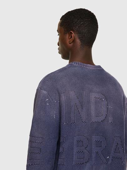 Diesel - K-NORTHERN, Blue - Sweaters - Image 3