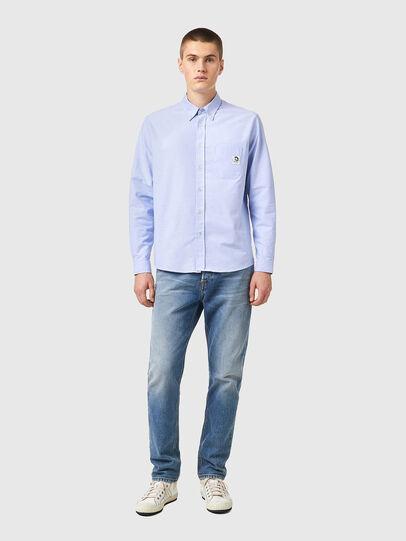 Diesel - S-JAMES-B, Light Blue - Shirts - Image 4