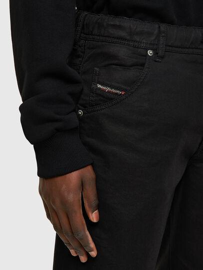 Diesel - D-KROOSHORT JOGGJEANS, Black/Dark Grey - Shorts - Image 3