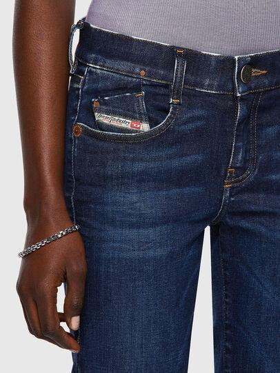 Diesel - D-Ebbey Bootcut Jeans 09A30, Dark Blue - Jeans - Image 4