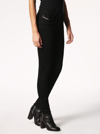 Diesel - Skinzee 0813E, Black/Dark Grey - Jeans - Image 5