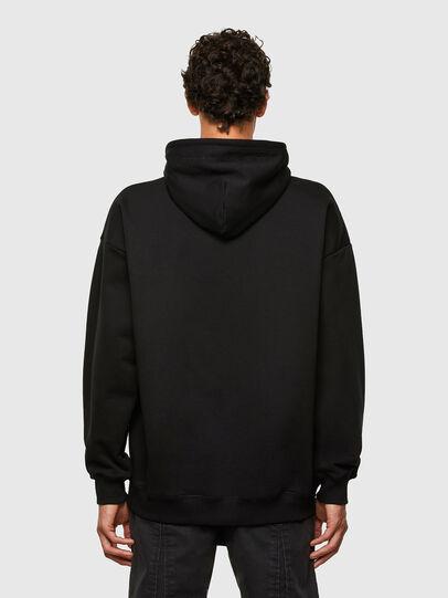 Diesel - S-UMMEREL-N1, Black - Sweatshirts - Image 2