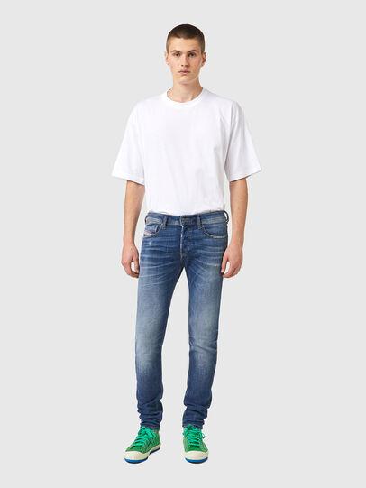 Diesel - Skinny Jeans 09A86, Light Blue - Jeans - Image 5