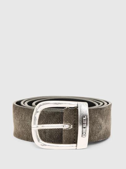 Diesel - B-ROUNCLE, Grey - Belts - Image 1