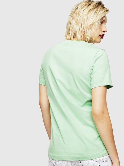 Diesel - T-SILY-COPY, Green - T-Shirts - Image 2