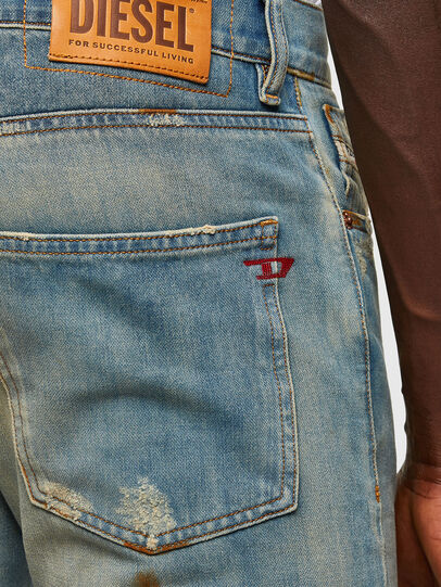 Diesel - D-Kras Slim Jeans 009JY, Light Blue - Jeans - Image 4