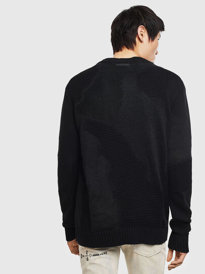 Diesel - K-CAMMY, Black - Sweaters - Image 2