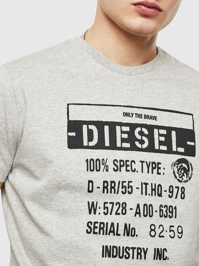 Diesel - T-DIEGO-S1, Grey - T-Shirts - Image 3