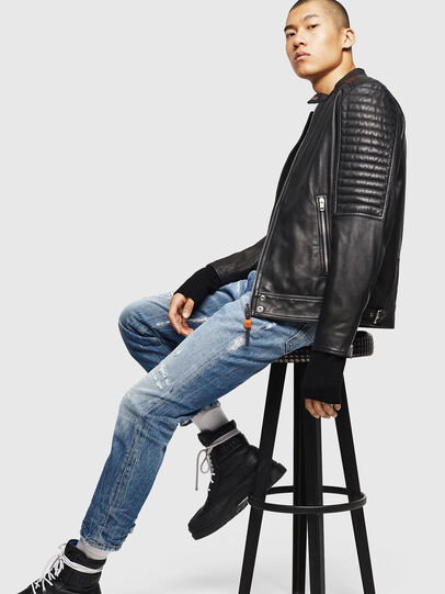 Diesel - L-SHIRO,  - Leather jackets - Image 7
