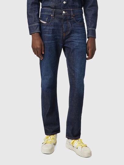 Diesel - D-Viker Straight Jeans 09A12, Dark Blue - Jeans - Image 1