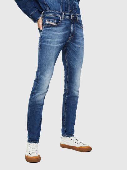 Diesel - Thommer 0097W, Dark Blue - Jeans - Image 1