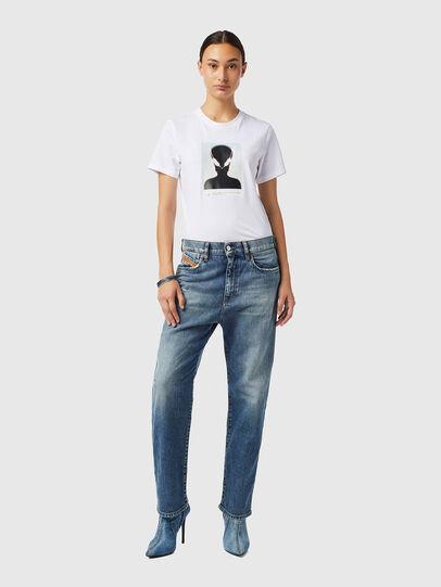 Diesel - D-Air Boyfriend Jeans 09B17, Medium blue - Jeans - Image 5