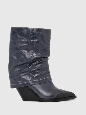 D-WEST MB, Blue - Ankle Boots
