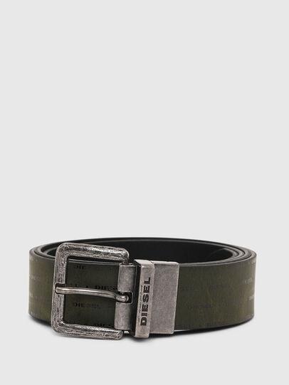 Diesel - B-DOUCKLE, Dark Green - Belts - Image 1