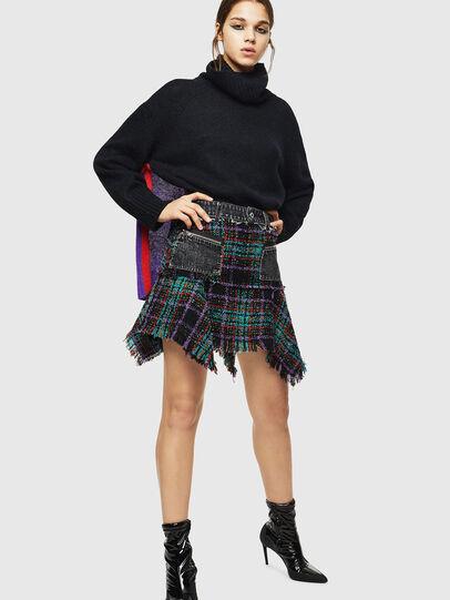 Diesel - M-PERSIA, Black - Sweaters - Image 6