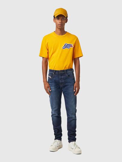 Diesel - D-Strukt Slim JoggJeans® 069XG, Dark Blue - Jeans - Image 5