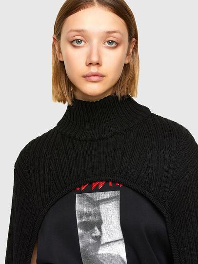Diesel - M-BENAZIR, Black - Sweaters - Image 3