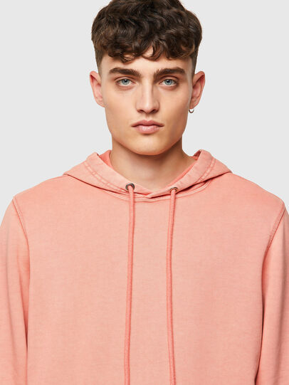 Diesel - S-GIRK-HOOD-MOHI-B1, Pink - Sweatshirts - Image 4