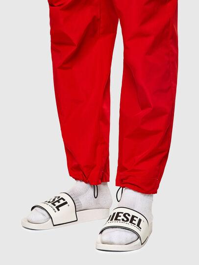 Diesel - P-TOLLER-ZIP, Red - Pants - Image 4