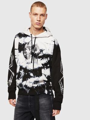 S-ALBY-Y, Black/White - Sweatshirts