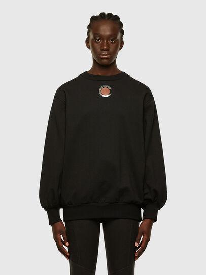 Diesel - F-CIONDY, Black - Sweatshirts - Image 1
