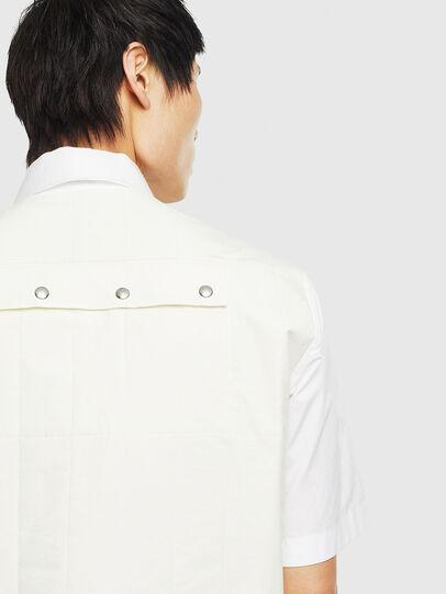 Diesel - S-GIBBS, White - Shirts - Image 5