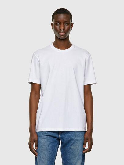 Diesel - T-JUST-VO, White - T-Shirts - Image 1