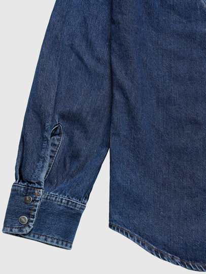 Diesel - US-D-EAST-P, Medium Blue - Denim Shirts - Image 6